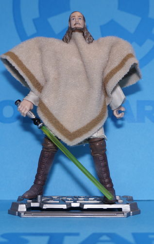 Qui-Gon Jinn With Eopie Hasbro legacy Mail-in 2009