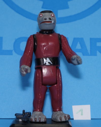 Star Wars Vintage Kenner Snaggletooth Rojo 1978