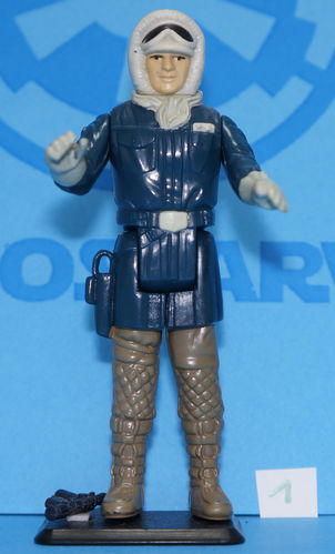 Star Wars Vintage Kenner Han Solo Hoth Outfit Empire Strikes Back 1980