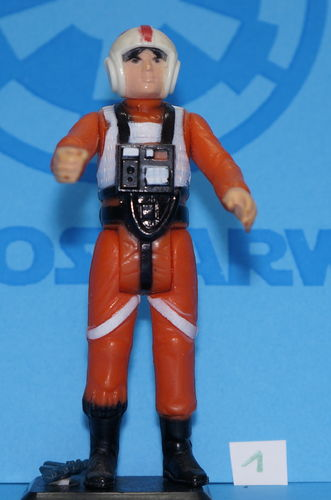 Star Wars Vintage Kenner Luke X-Wing Pilot no COO 1978